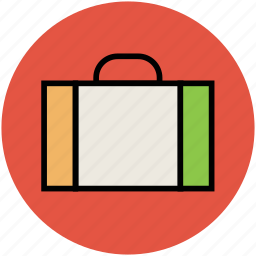 briefcase, business bag, business case, portfolio icon