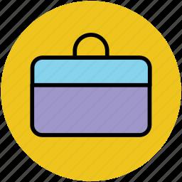briefcase, business bag, business case, documents bag, portfolio icon