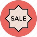 label, sale, sale sticker, sale tag, shopping, tag icon