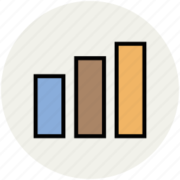 analytics, bar chart, bar graph, graph analysis, statistics icon