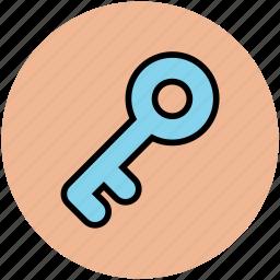 door key, house key, key, lock, locked, password, retro key, safe, secure icon