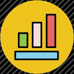 analysis, analytics, bar chart, bar graph, statistics icon