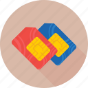 chip, integrated chip, phone sim, sim, sim card