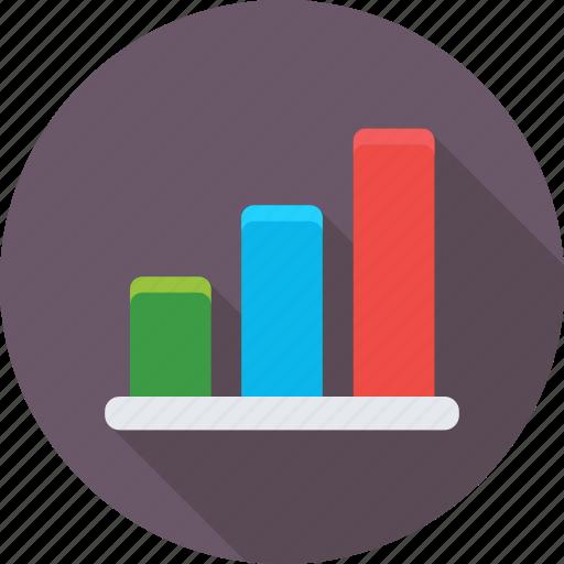 bar chart, bar graph, graph, infographics, statistics icon