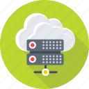 cloud computing, cloud network, network sharing, server, server cloud icon