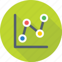 analytics, chart, infographics, line graph, statistics icon
