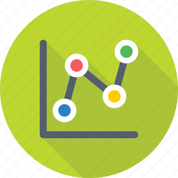 analytics, chart, infographics, line graph, statistics icon