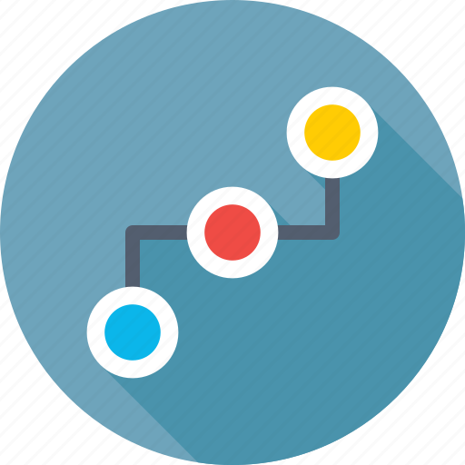 networking, organization, process, structure, workflow icon