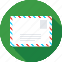 envelope, letter, message, post envelop, post letter icon