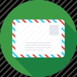 envelope, letter, message, post envelop, post letter icon