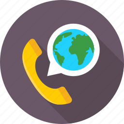 helpline, phone, phone receiver, receiver, worldwide service icon
