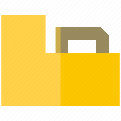 archive box, catalog, file, folder, library, paper icon