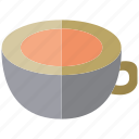 coffee, cup, drinks, water icon