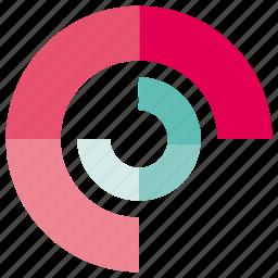 data, pie chart, plot icon
