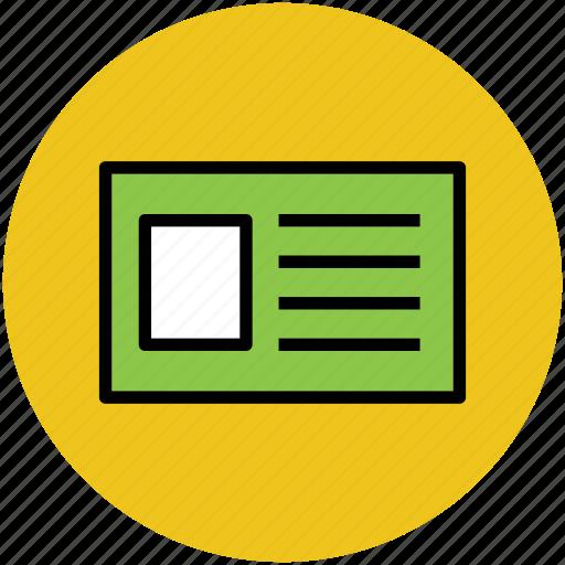 employment card id id badge id card identification student card