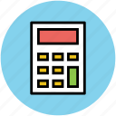 accounting, calculating device, calculation, calculator, digital calculator, math icon