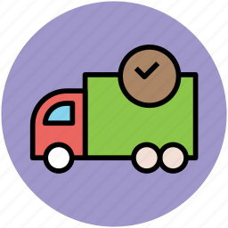 cargo, delivery service, delivery van, logistic, shipping icon