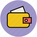 billfold wallet, card pouch, pocketbook, purse, wallet icon
