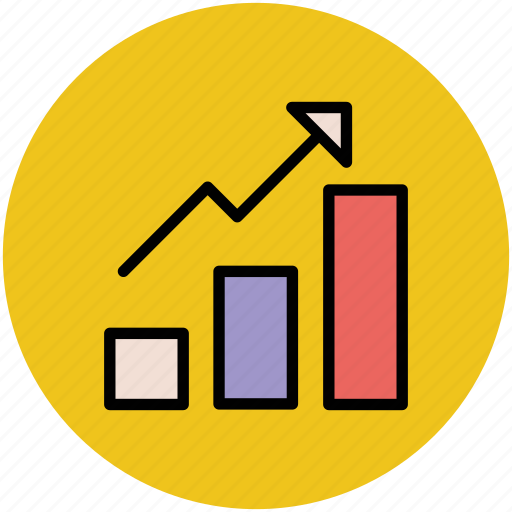 business growth, chart, increasing graph, profit chart, success icon