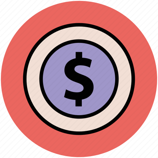 currency, dollar, economy, finance, money, sign, symbol icon