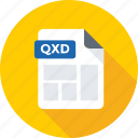 filetype, qxd, qxd document, qxd extension, qxd file icon