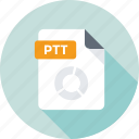 filetype, ptt, ptt document, ptt extension, ptt file icon