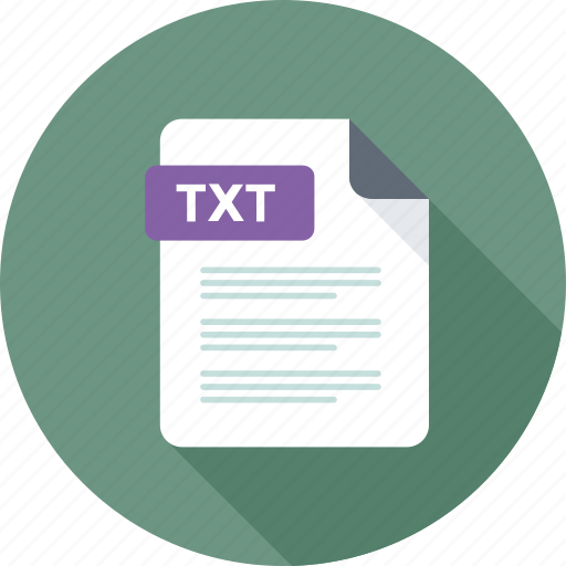 text, text extension, text file, txt, txt file icon