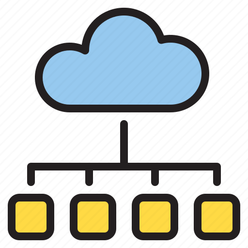 browser, cloud, internet, storage icon