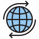 gobal, internet, marketing, online icon