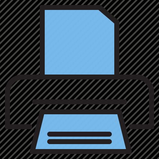 marker, market, pointer, printer icon