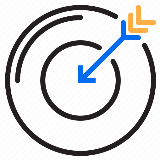 business, dartboard, seo, target icon