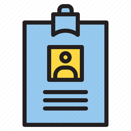business, card, id, office icon