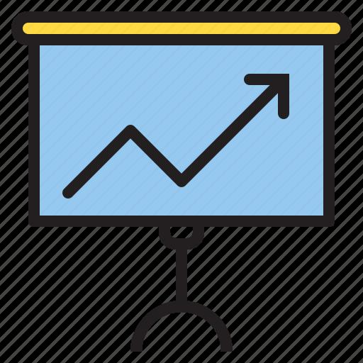 analysis, chart, finance, report icon