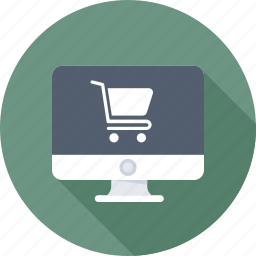 e shop, ecommerce, online shopping, shopping catalogue, shopping trolley icon