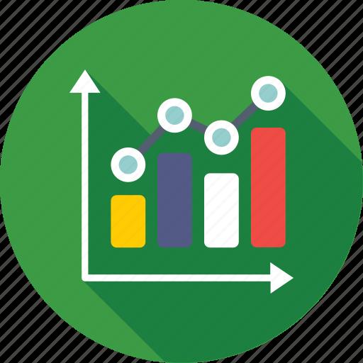 bar chart, bar graph, chart, graph, statistics icon