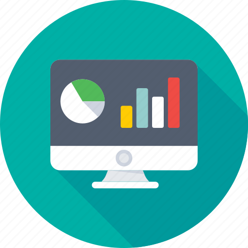 analytics, bar chart, bar graph, infographics, online graph icon