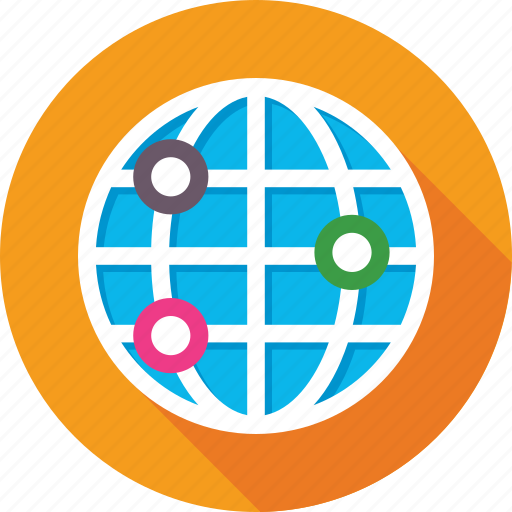 around the world, globe, international, world, worldwide icon