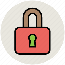lock, locked, padlock, protection, safe, secure icon