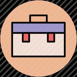 briefcase, business bag, business case, portfolio icon