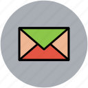 correspondence, envelope, letter, mail, message icon