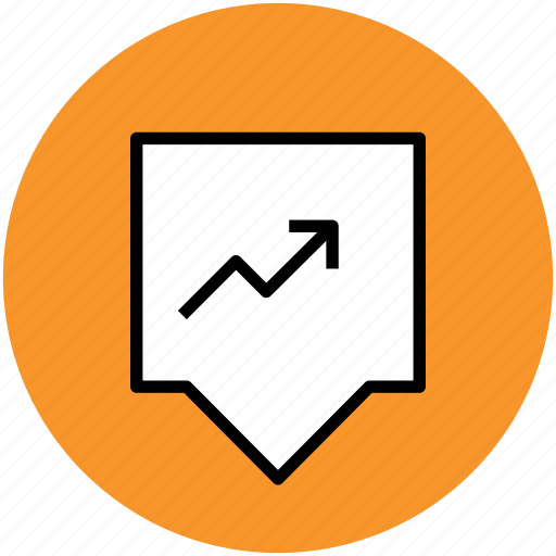 analysis, analytics, increasing arrow, stat, statistic icon