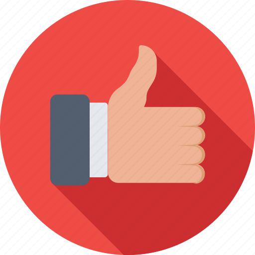 hand gesture, ok, social like, thumbs up, well done icon