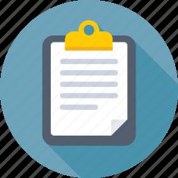 article, clipboard, media, news, newspaper icon