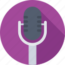 audio, mic, microphone, radio mic, recording icon