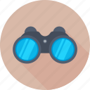 binocular, field glass, search, spyglass, view icon