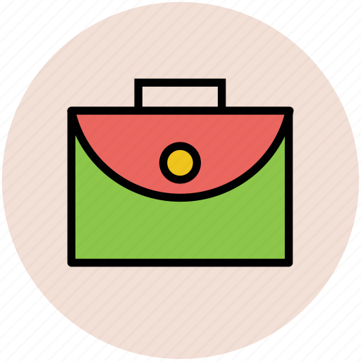 bookbag, briefcase, laptop bag, portfolio, school bag icon
