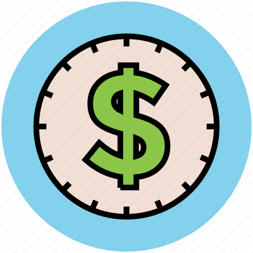 currency, dollar sign, economy, finance, money, sign, symbol icon
