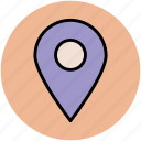 gps, location, locator, map marker, map pin, navigation icon