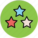 favorite, like, luminary, stars, three stars icon