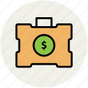 cash bag, currency bag, finance, money bag, savings icon